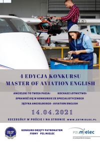 IV EDYCJA KONKURSU MASTER OF AVIATION ENGLISH